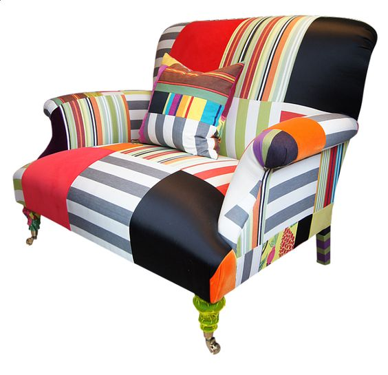 From GDUKStyle.com Contemporary feature: The Bloomsbury Man and Dog Chair £3,600 from www.squintlimited.com.