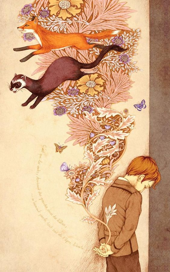 Liberté / Freedom, an art print by Agata KAWA - INPRNT