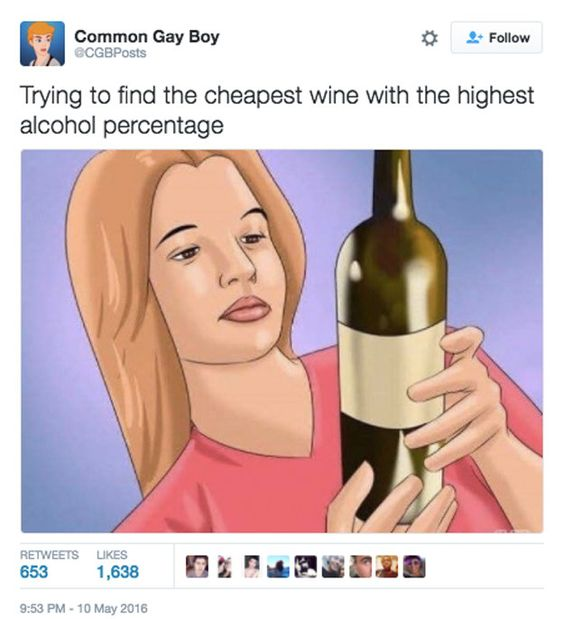 27 Hilarious Tweets That Will Make Every Wine Lover Feel Understood
