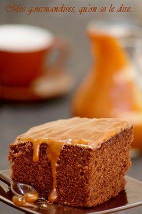 Moelleux au chocolat et caramel au beurre salé : la recette facile