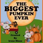 The Biggest Pumpkin Ever ~ This October Unit has 50 pages of ideas, activities and printables for your classroom.