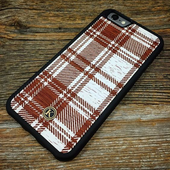 One more prototype for the night!  Let us know what you think about these new plaid designs. #Keyway #KeywayDesigns #Design #Plaid #Padauk #Christmas