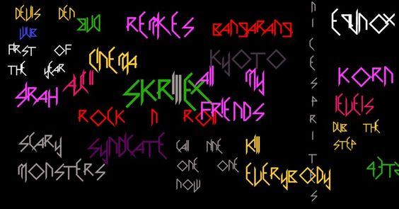 Skrillex y sus canciones