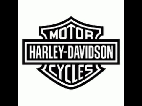 Drawing A Harley Davidson Youtube Harley Davidson Logo Harley Davidson Harley