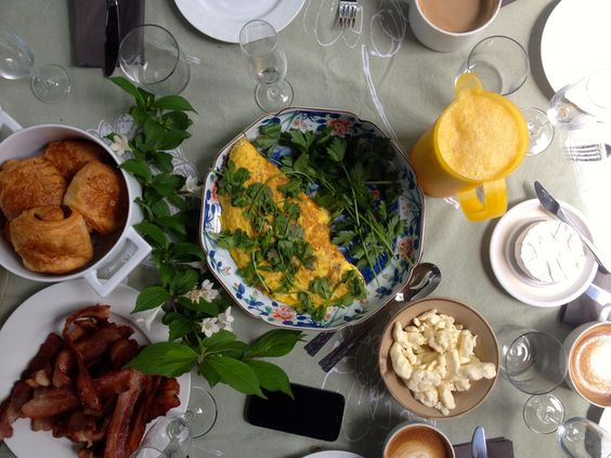 Sunday brunch with the family (2/2)