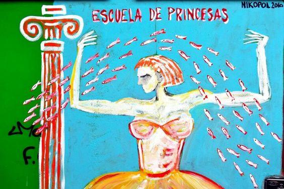 Las Meninas de Canido, en Ferrol: