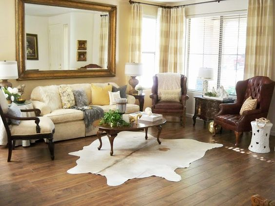 A Stroll Thru Life: Living Room Reveal - New Floors