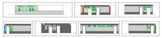 interiorismo parking arquitectura color