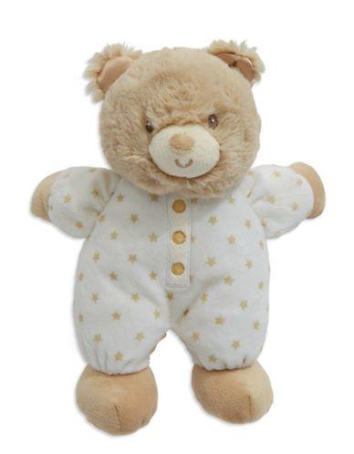 Little Me Starry Teddy Bear  Tan