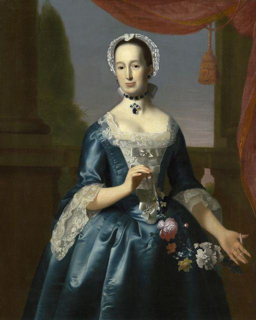 John Singleton Copley, 'Anne Fairchild Bowler (Mrs. Metcalf Bowler),' ca. 1763, National Gallery of Art, Washington, D.C.: