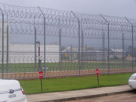 This prison is in Natchez,Ms all the inmates here wear RED only saw a couple of inmates who wore green.