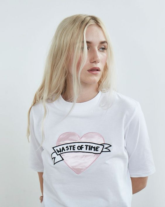 Lazy Oaf Waste of Time T-shirt - Autumn 2016 - Seasons - Womens