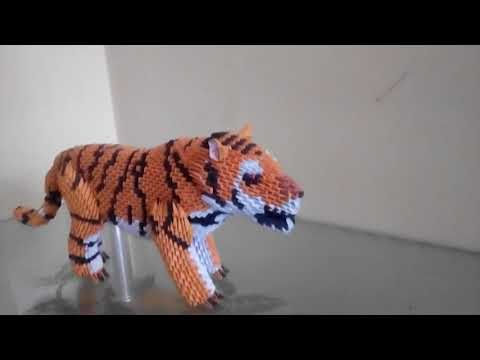 Origami tiger - OrigamiArt.Us | 360x480