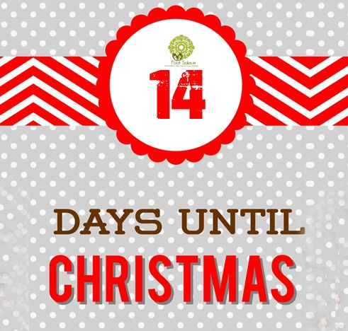Get Ready for #Christmas. Only 14 Days Left!!