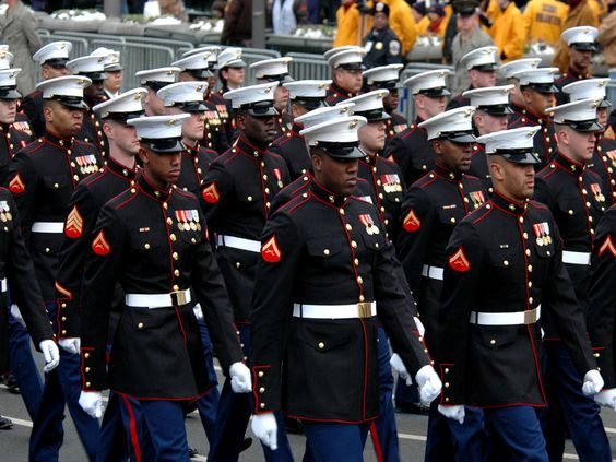 Brothers in Arms.......The Marines!!