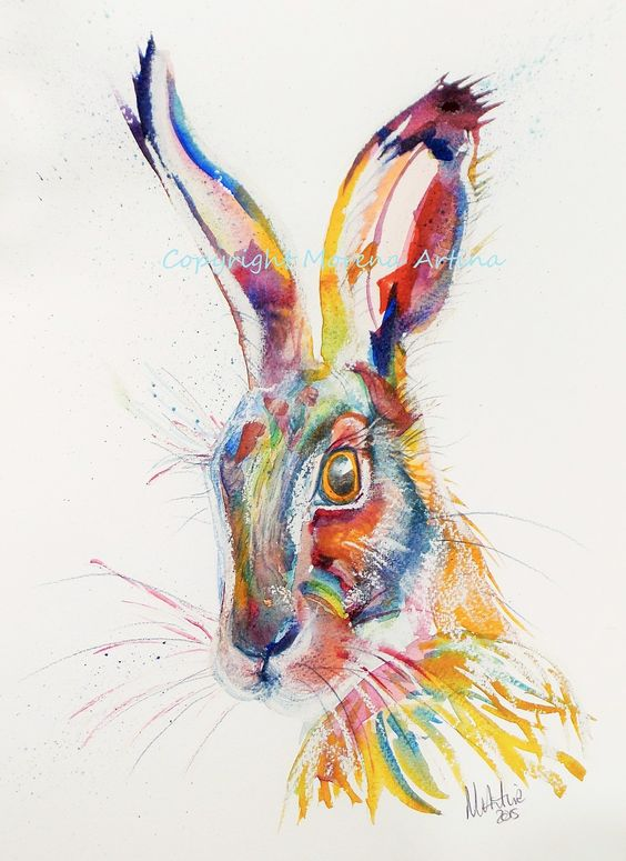 One coming up later this evening in my Ebay Shop! For all Hare lovers.