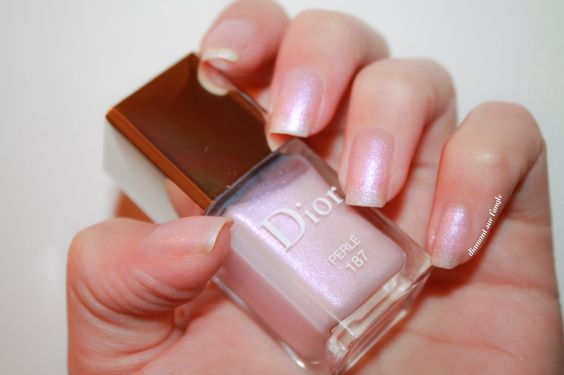 ⚜ Perlé by Dior, collection Trianon 2014 by diamant sur l'ongle