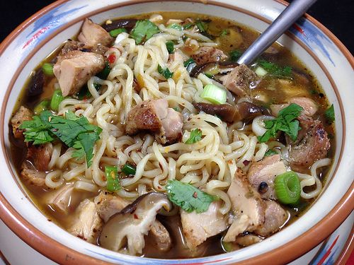 Joelen's Spicy Asian Chicken Noodle Soup