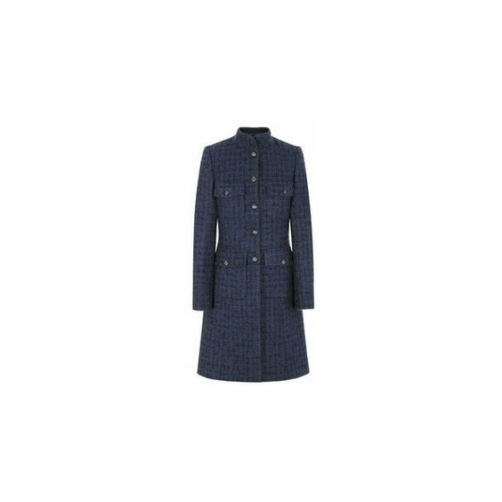 Ladies Tweed Coats ❤ liked on Polyvore featuring outerwear, coats, tweed wool coat and tweed coats