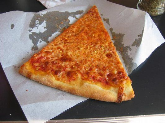 Slice of Arinell's pizza