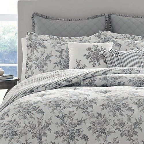 Laura Ashley Lifestyles Annalise Comforter Set Comforter Sets
