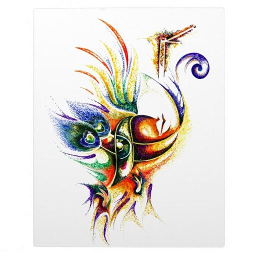 Creative Abstract Of Lord Krishna Photo Plaques