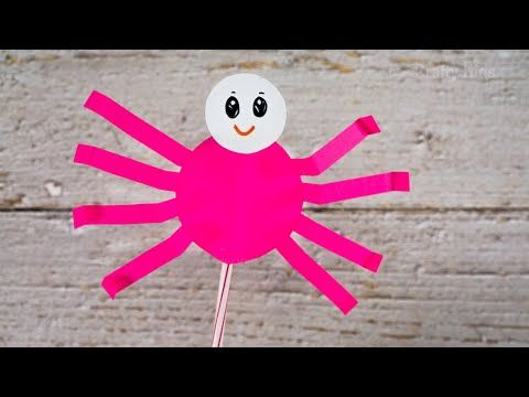 Origami - How To Make An Origami Spider - YouTube | 360x480