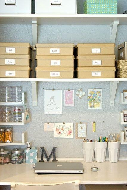 Desk // workspace // crafts // craftroom