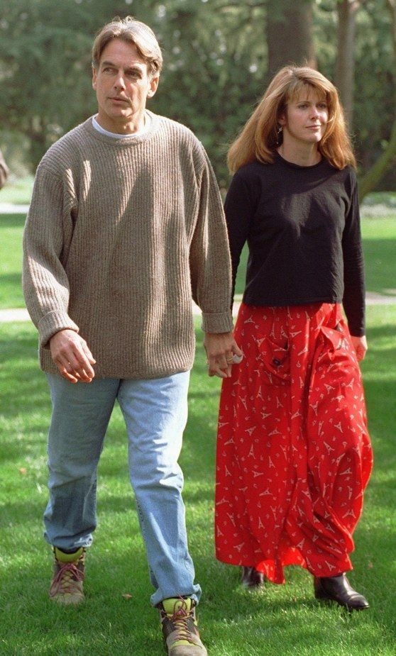 Mark s manželkou Pam Dawberovou