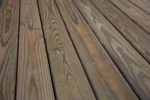 Menards Cedar Tone Decking Reviews In 2020 Diy Deck Staining Deck Cool Deck