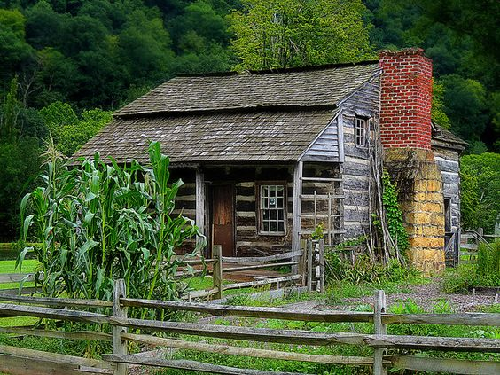 1800s Log Cabin In West Virginia ️ ️ ️ ️ Cabin Love