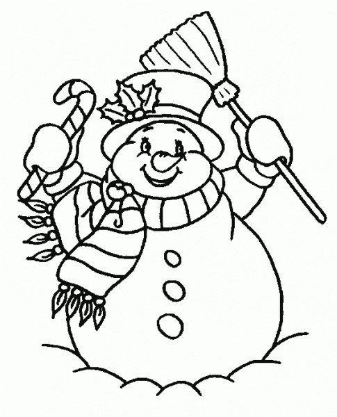 Auf diese Seite finden Sie die kostenlose Schneemann Ausmalbilder ...