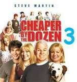 Cheaper by the Dozen 3 with Steve Martin. Didn't know ...