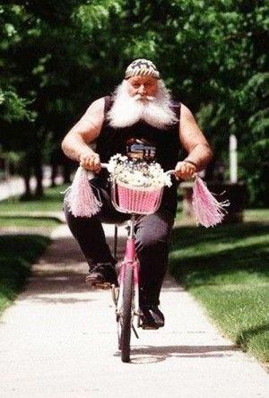 Biker dude!