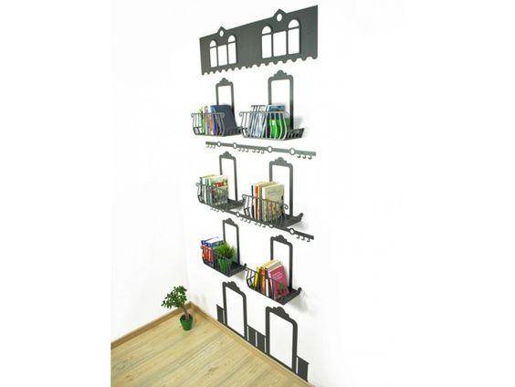 Librería de pared SORRENTO | Librería - Ferrovivo