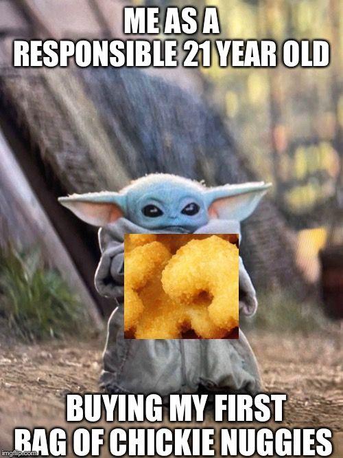 Baby Yoda Nuggets Whatsapp Funny Pictures Yoda Funny Yoda Meme