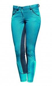 Denim Breeches Fashion NEW
