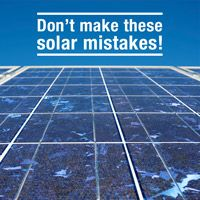 6 Mistakes to Avoid When Buying Solar Panels
