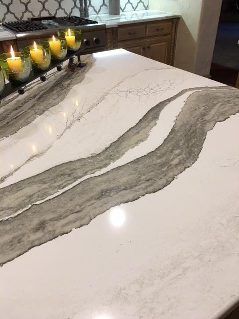 Cambria Skara Brae Installation By Winston Floors Countertops In