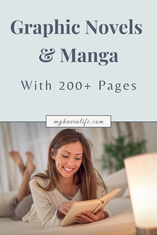 The Best Graphic Novels And Mangas Over 200 Pages My Haven Life In 2020 Book Discussion Novels Book Blogger