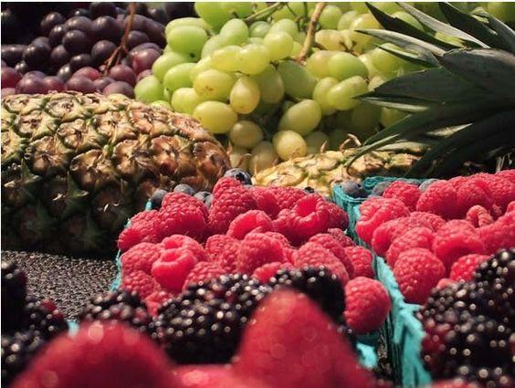 7-Layer Fruit Salad - choose your own fruit or follow my recipe... Enjoy !