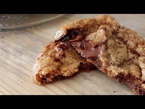 La Meilleure Recette De Cookies Croustillants Et Fondants A La Fois Muslim Queens By Mona Youtube Food Cooking Fondant