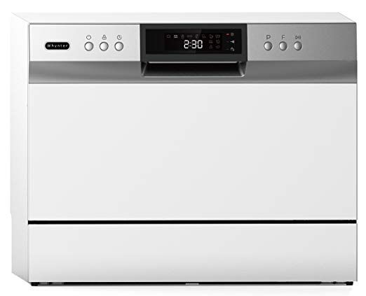 Whynter Cdw 6831wes Energy Star Countertop Portable Dishwasher 6