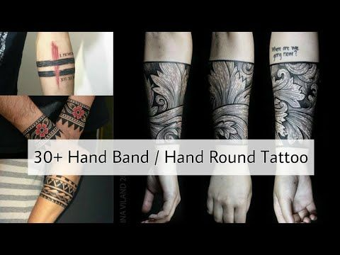 30 Hand Band Tattoo For Men Hand Round Tattoo Designs Forearm Band Tattoo 2020 Arm Band Tattoo Y In 2020 Round Tattoo Forearm Band Tattoos Band Tattoos For Men