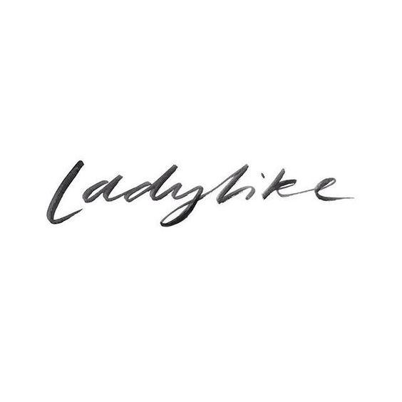 ladyhike lettering