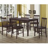 Found it at Wayfair - Bentley 7 Piece Dining Set