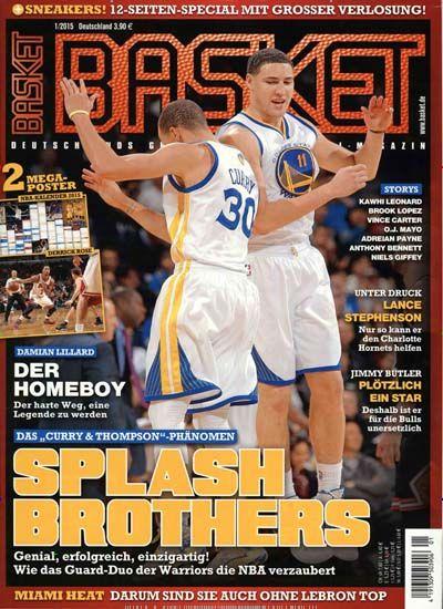 SPLASH BROTHERS. Gefunden in: Basket, Nr. 1/2015