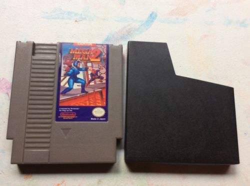 Mega MAN 2 Nintendo Entertainment System 1989 NES Tested | eBay