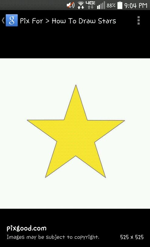 Omg its me jk. Its a cool fake star i drew it