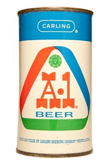 A-1 Arizona Beer label
